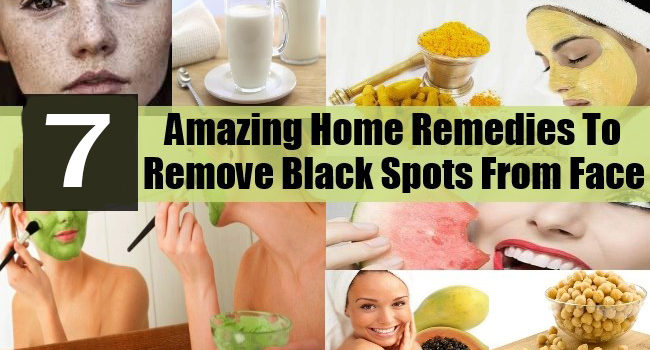 Remove black spot from face
