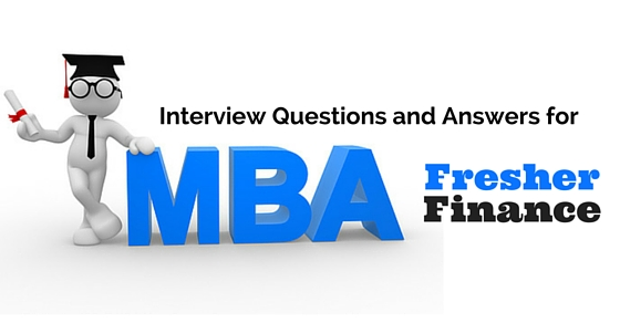 mba-job-interview-questions